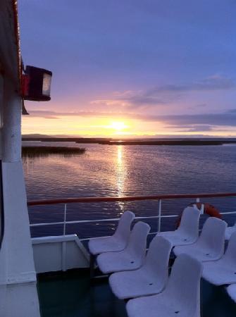 Corrib Princess River Cruise: A beautiful evening on the Corrib