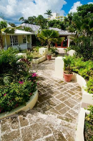 Island Inn Hotel: Walkway
