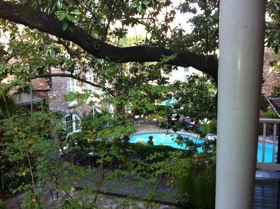 Place d'Armes Hotel: vista desde nuestra habitación
