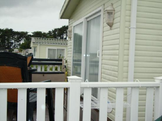 Rockley Park Holiday Park - Haven: great relaxing on balcony
