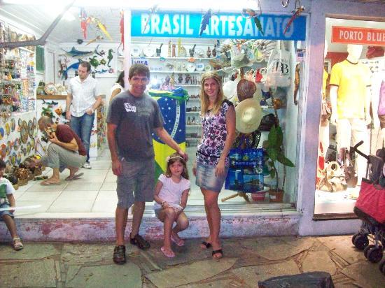Playa de João Fernandez: rua das pedras