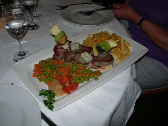 Lino Restaurant : Chateaubriand a la Lino