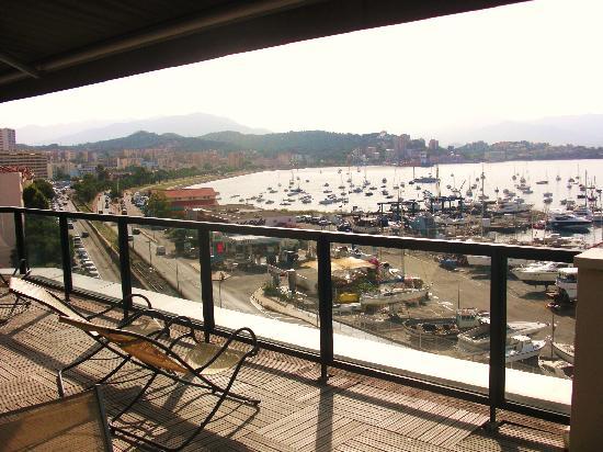 Mercure Ajaccio: the terrace