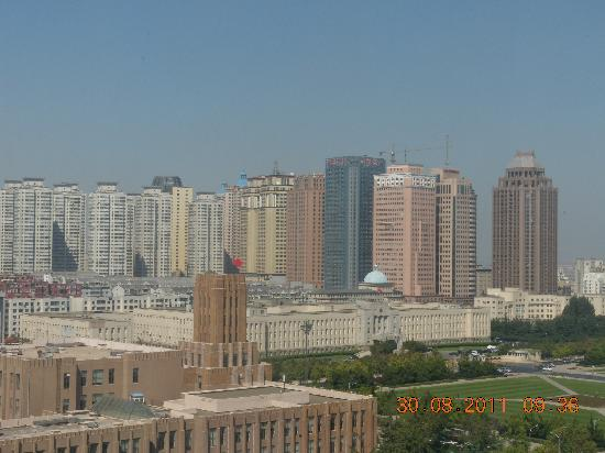 Dalian People Square: buidings around the squre