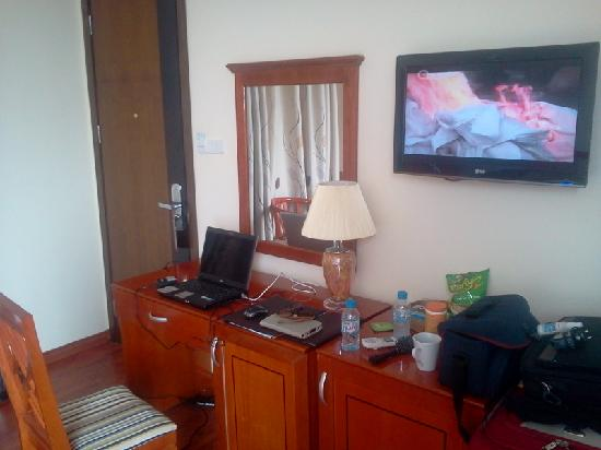Moon View Hotel: Comfortable to work