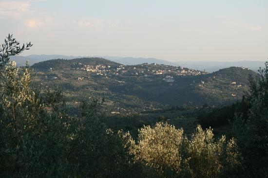 Florence La Paggeria B&B: Great Views