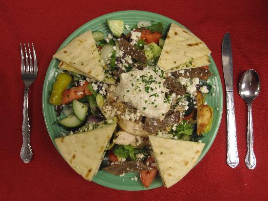 Evan's Old Town Grille: Evan's Own Deluxe Greek Salad