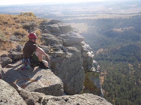 Devils Tower Lodge: Summit Plateau of Devils Tower
