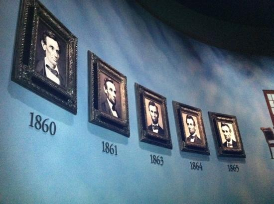 Abraham Lincoln Bibliotek og Museum: Lincoln's portraits during his presidential years