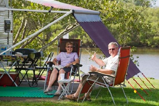 North Coast Holiday Parks Terrace Reserve: Camping at Terrace Reserve Holiday Park