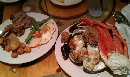 Captain George S Seafood Williamsburg Menu Prices Restaurant Reviews Tripadvisor
