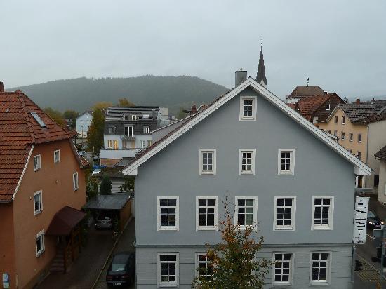 Hotel Garni Rosengarten: View from the window