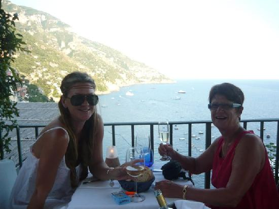 Pensione Casa Guadagno : An example of the view from each resturant
