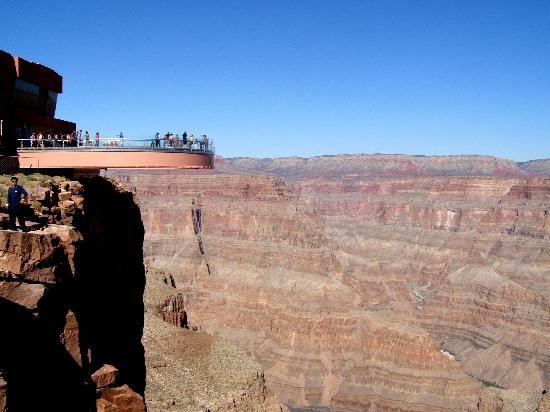 Harrah's Laughlin: Skywalk at Grand Canyon West