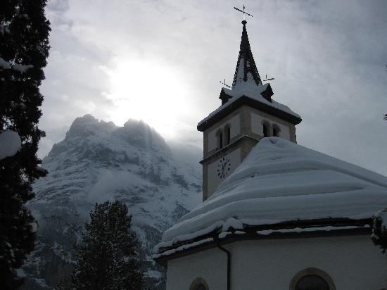 Grindelwald, سويسرا: Church in Grindelwald