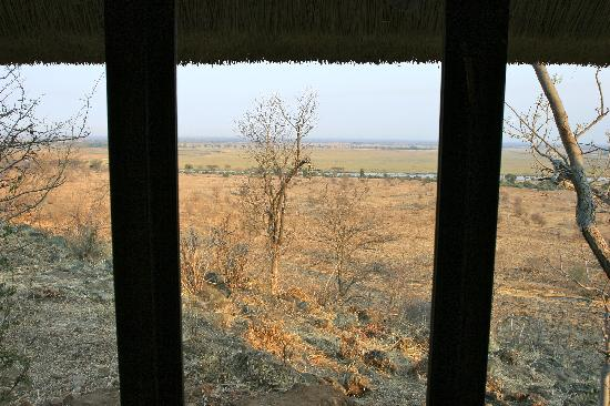 Ngoma Safari Lodge: View from the room