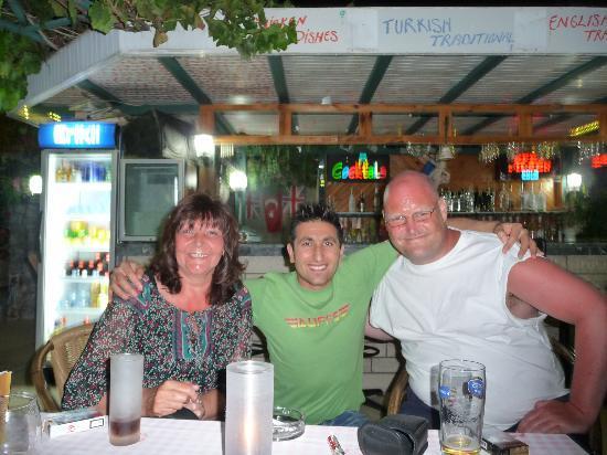 "Oylum Garden Hotel: Us With Dursan/Dave ""Sound as a pound"" Barman"