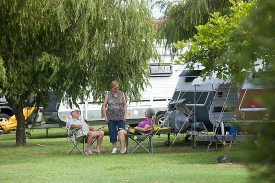 Mylestom, Australia: Camping at North Beach Holiday Park