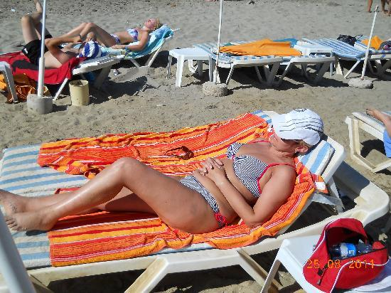 Emir Fosse Beach Hotel: Н апляже