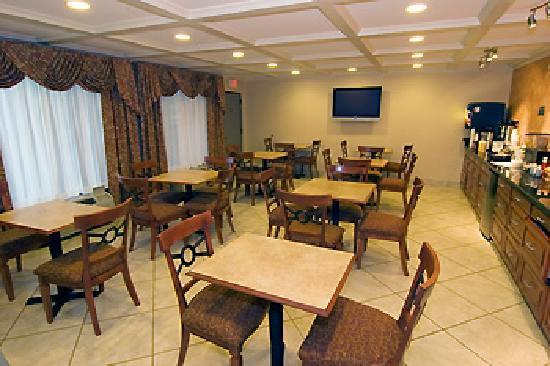 BEST WESTERN Vicksburg: Breakfast Area