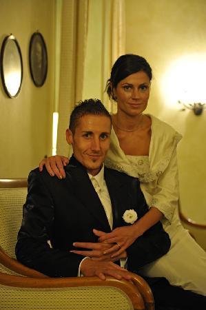 Romantic Hotel Furno: saletta bar