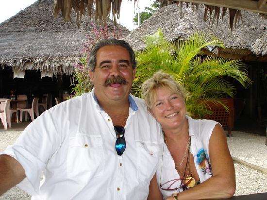 Traveller's Budget Motel: Owner-managers Jack and Janelle