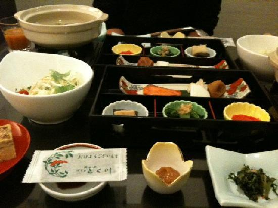Okunoin Hotel Tokugawa: our breakfast