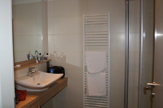 Hotel Sächsische Schweiz: Badezimmer