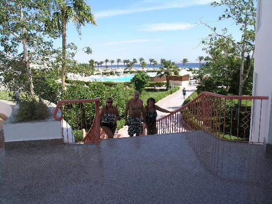 บารอนรีสอร์ท ซาร์มอัลชีค: a view from the upper pool