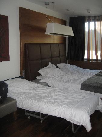 โรงแรมจีแอลโอ เฮลซิงกิคลูวิ: Hotel Glo, XL room met extra bed