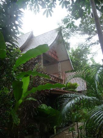 Khao Sok Las Orquideas Resort: Im Garten