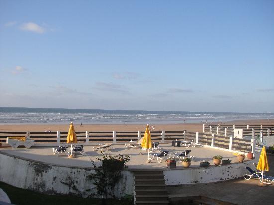 Casablanca Le Lido Thalasso & Spa : vue vers l'océan
