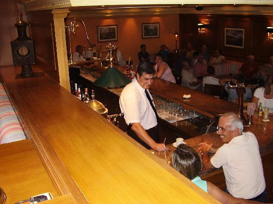 Hotel Las Palmeras: Tren Bar