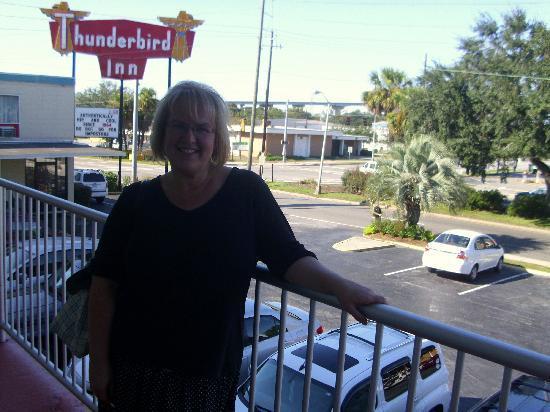 The Thunderbird Inn: from the room