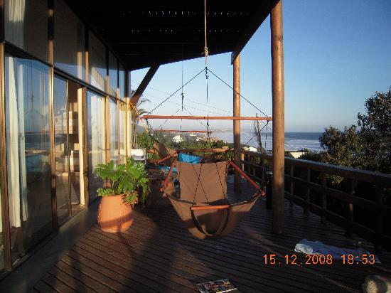 Wilderness Beach house : At one of the balconies