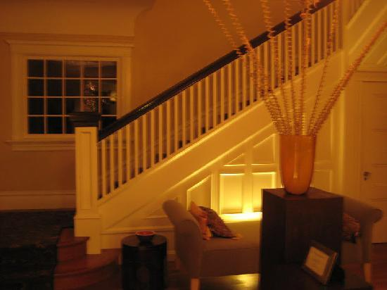 The Inn On First: main house stairs