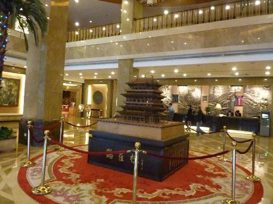 Jinxin Hotel: Lobby is nice