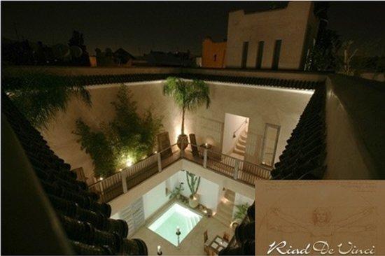 Riad de Vinci: Vue de la terrasse