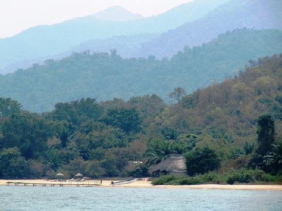 Kungwe Beach Lodge: View from the Lake