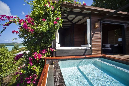 Saint Mary's, Antigua: Hillside Pool Suite