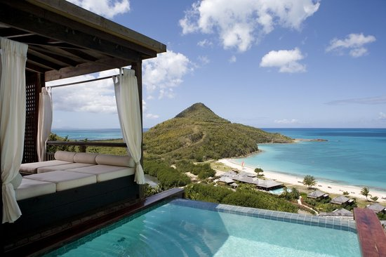 Saint Mary's, Antigua : Hillside Pool Suite