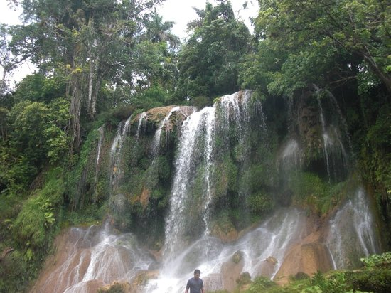 Cienfuegos, Cuba: Waterfalls. The main one.