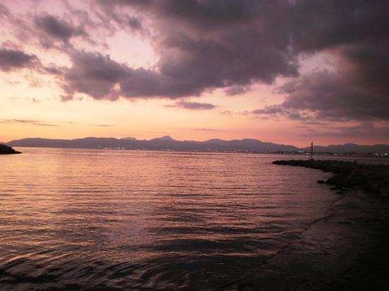HSM Reina del Mar: le coucher de soleil sur la plage el arenal