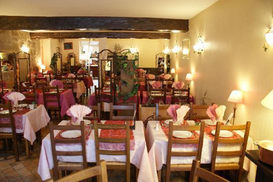 Le Medieval: vue du restaurant