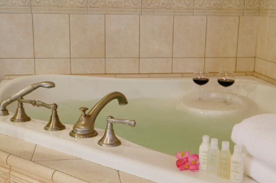 Ashton's Bed and Breakfast: Soothing Hydro-Thermo Massage Tub for Two