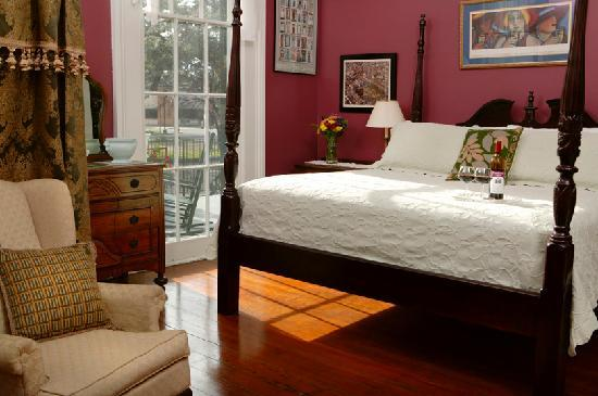 Ashton's Bed and Breakfast: Jackson Square Room (Room 1)