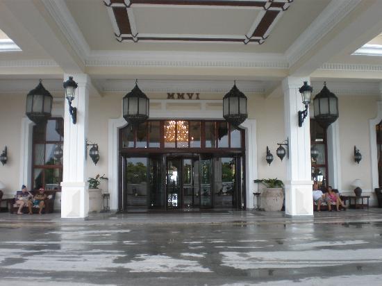 Hotel Riu Palace Punta Cana: Entrée   de l`hotel