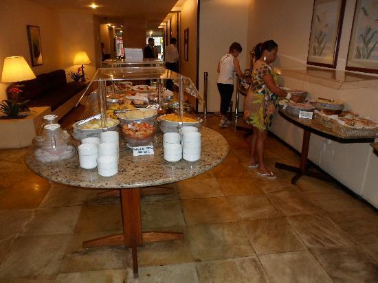 Hotel Savoy Othon: El desayuno