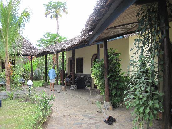 Madiro hotel : le jardin