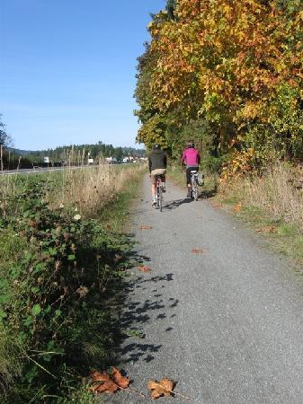 Lochside Regional Trail: Super Cycling Trail